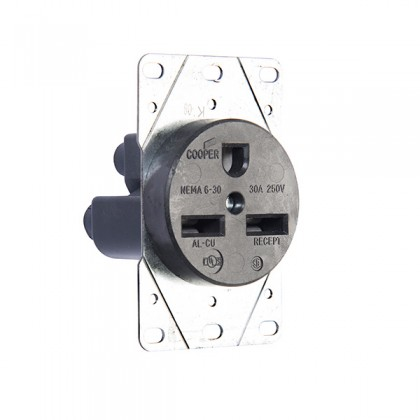 208/230 Volt Receptacle Outlet – 30 AMP